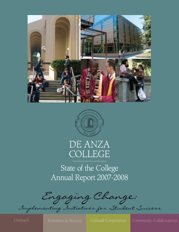 Engaging Change: Implementing Initiatives for ... - De Anza College