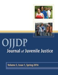 Journal Juvenile Justice