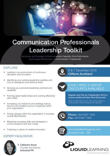 Communication Professionals Leadership Toolkit