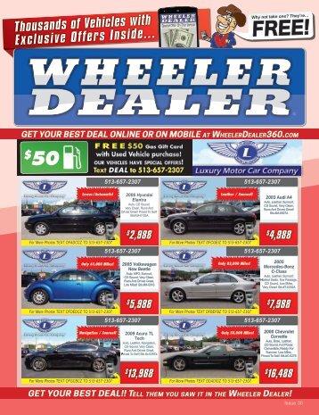 Wheeler Dealer Issue 38, 2016