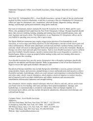 Manhattan Chiropractic Office, Axon Health Associates, Helps Olympic Hopefuls with Sports Medicine