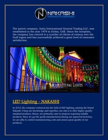 Led downlights Oman