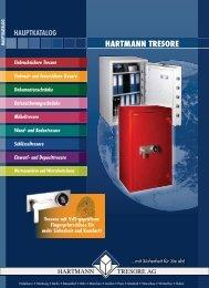 HARTMANN TRESORE-Hauptkatalog 2016