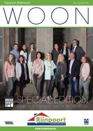 Rijnpoort Makelaars WOON magazine #28, uitgave oktober 2016