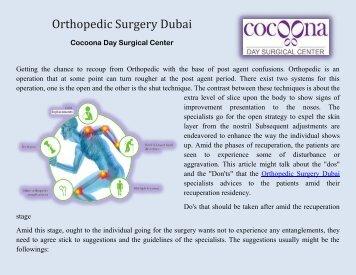 Orthopedic Surgery Dubai