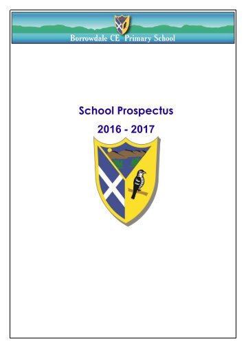 BORROWDALE SCHOOL PROSPECTUS 2016-17