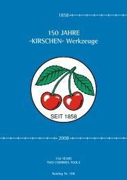 150 JAHRE ››KIRSCHEN‹‹ Werkzeuge - Ita.ru