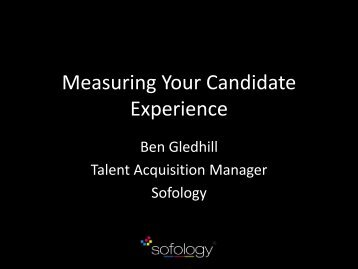 Measuring Your Candidate Experience