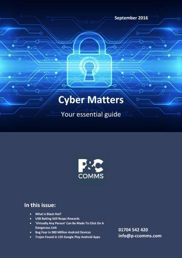 Cyber Matters