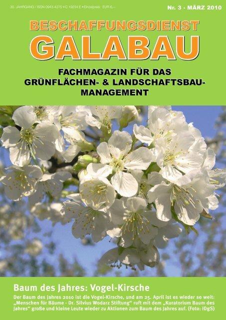 Baum des Jahres - Beschaffungsdienst GaLaBau