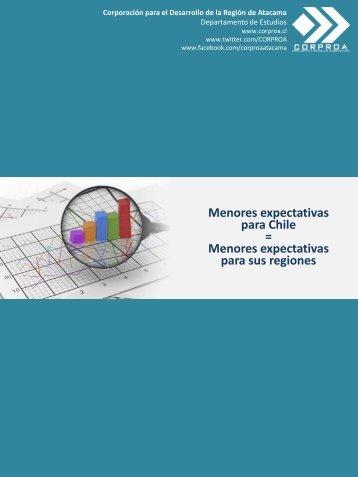 Menores expectativas para Chile = Menores expectativas para sus regiones