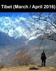 Tibet - March-April 2016