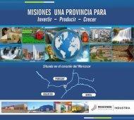 Misiones una Provincia para Invertir, Producir y crecer
