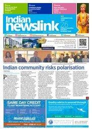 Indian Newslink 15th Sept 2016 Digital Edition