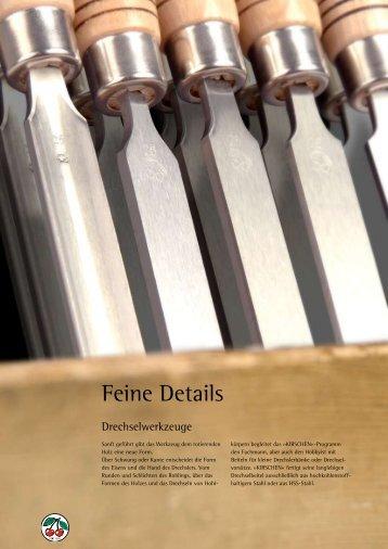 Katalog Drechselwerkzeuge - Kirschen