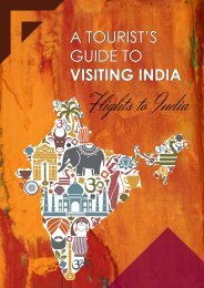 A Tourist's Guide to Visiting INDIA