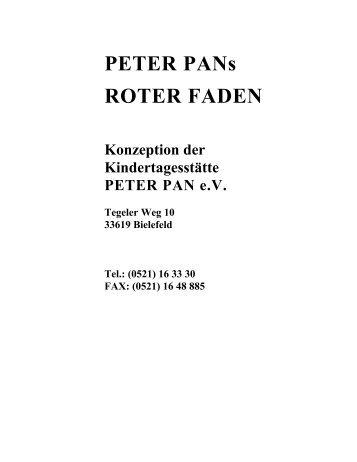 0 Grundlage unserer Erziehungs- und Bildungsarbeit - Peter Pan e.V.