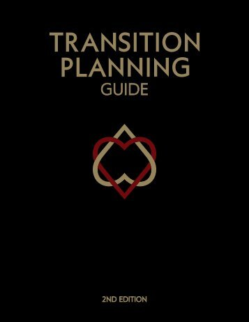 Transition Planning Guide – 2nd Edition