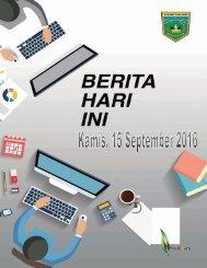 e-Kliping Kamis, 15 September 2016
