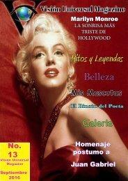 Edición No. 13 Septiembre 2016