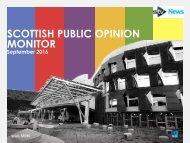 SCOTTISH PUBLIC OPINION MONITOR