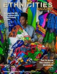Ethnicities Magazine - Volume 3 - September Issue