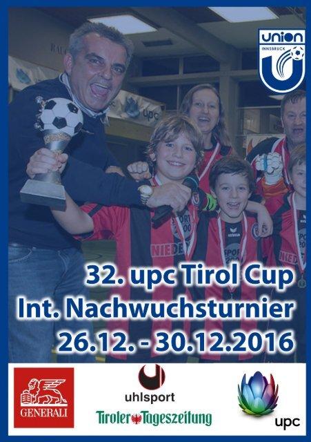 UPC tirol int. Nachwuchscup 2016