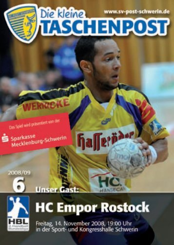 FAN-NEWS - SV Post Schwerin - Handball-Bundesliga