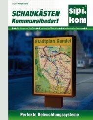 Schaukästen Katalog | SIPIRIT GmbH Kommunalbedarf