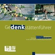 Gedenkstättenführer - Landeszentrale für politische Bildung ...