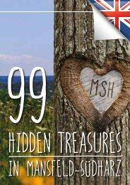99 HIDDEN TREASURES IN MANSFELD-SÜDHARZ