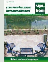 Strassenmöbel| Stadtmöbel | SIPIRIT GmbH Kommunalbedarf | Qualitätsprodukte