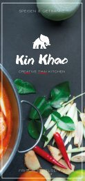 Kin Khao crEATive thai kITchen