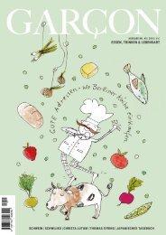 Magazin GARCON - Essen, Trinken, Lebensart Nr. 40