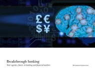 Breakthrough banking