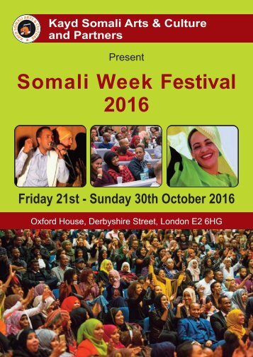 Somali-Week-festival-2016-program