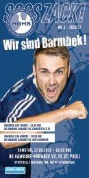 SSSSZACK! HGHB vs. FC St. Pauli