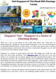 Singapore Tour - A Nation of Charming Beauty