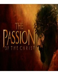 The Passion of the Christ by Ellen G. White