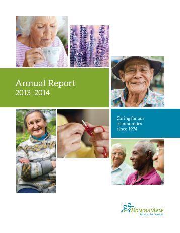 Lumacare Annual Report, 2013-14