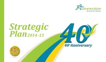 40th Anniversary: Lumacare Strategic Plan, 2014-15