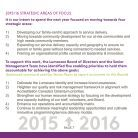 Moving forward together: Lumacare Strategic Plan,2015-16 - Page 7