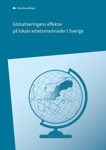 Globaliseringens effekter på lokala arbetsmarknader i Sverige