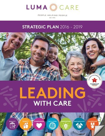 Leading with Care: Lumacare Strategic Plan, 2016-19