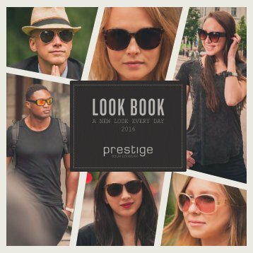 Prestige Look Book 2016
