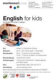 English for kids 2016