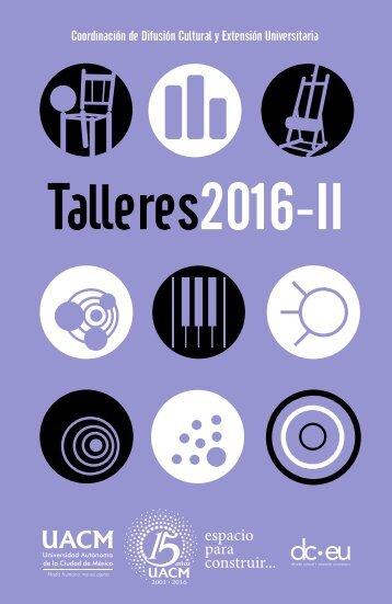 Talleres2016-II