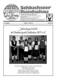 Apotheken · Dorfhelferinnenstation Telefon - Gemeinde Schluchsee