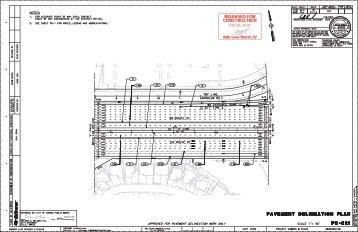 PD-C21 Pavement Delineation Plan