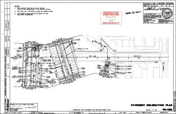 PD-C28 Pavement Delineation Plan